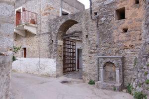 城壁内への入り口の一つ