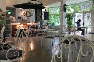 園内のカフェグリーン