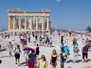 東側から見たパルテノン神殿