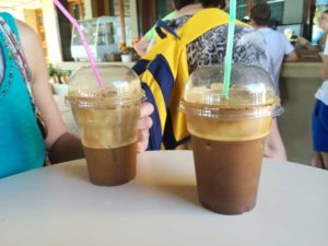 ギリシャ風アイスコーヒーのブラック