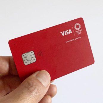 東京2020限定デザインVisa LINE Payクレジットカード