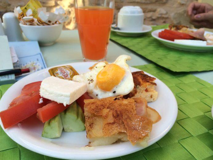 グレシアンキャッスルホテルの朝食
