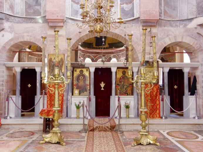 ネア・モニ修道院祭壇