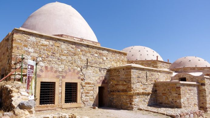 オスマン帝国時代の公衆浴場跡