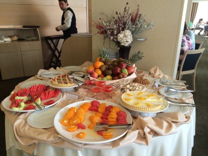 2014年8月12日アマリアホテル(アテネ)の朝食